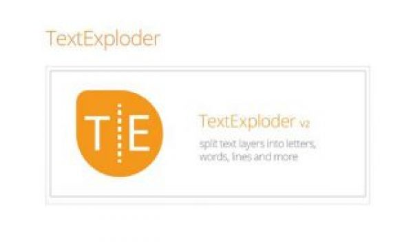 Text Exploder for After Effects from Mamoworld.com