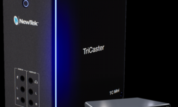 NewTek TriCaster Mini (2019) video mixer goes NDI-only