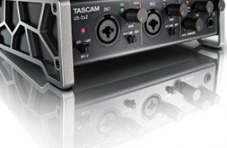 Tascam US–2X2 preamp/A-D converter interface review