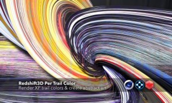 Redshift3D Per Trail Color