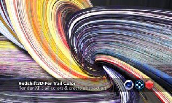 Redshift3D Per Trail Color