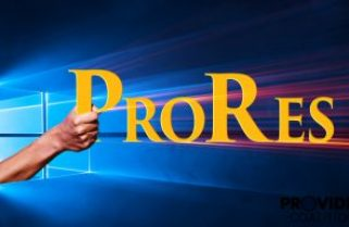 Windows ProRes: First Impression