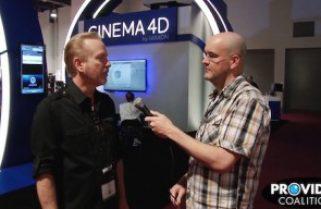 PVC at NAB 2015: Talking Cinema 4D with Paul Babb