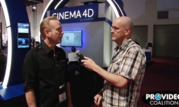 PVC at NAB 2015: Talking Cinema 4D with Paul Babb