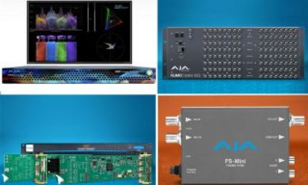 AJA Video Systems: new products unveiled at IBC 2019