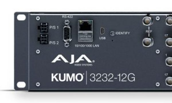 AJA ships KUMO 3232-12G compact router for emerging 8K workflows