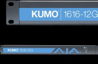 AJA Video Systems releases KUMO 1616-12G Compact 12G-SDI Router