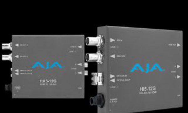 AJA introduces Hi5-12G and HA5-12G Mini-Converters