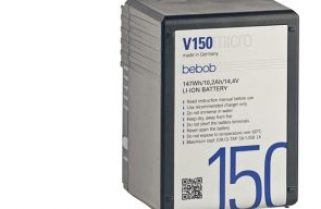 Vmicro and Amicro ultra-compact  battery packs from bebob at NAB 2019