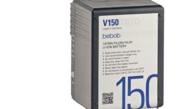 Vmicro and Amicro ultra-compact  battery packs from bebob at NAB 2019