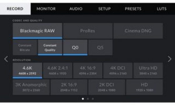 New Blackmagic RAW 1.5 update adds support for Adobe and Avid