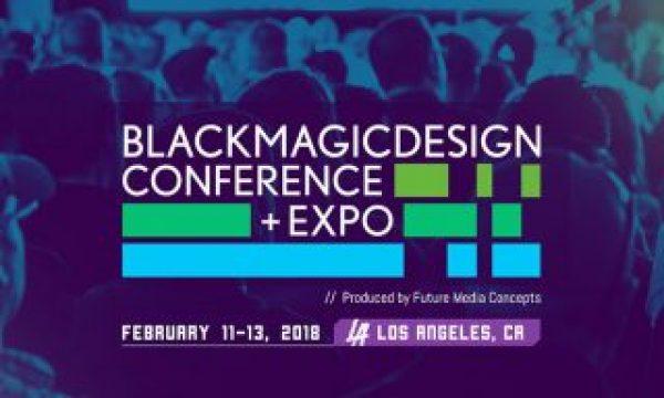Blackmagic Design Conference in Los Angeles