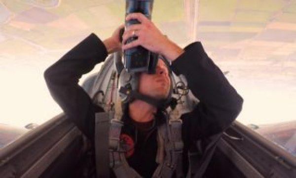 Behind the Scenes of a Top Gun shoot