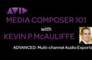 Media Composer 101 – Advanced – Multi-Channel Audio Exports