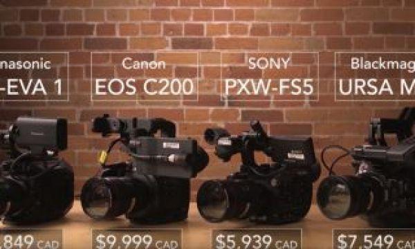 The 2018 Compact Cinema Camera Shootout