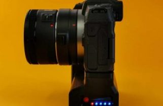 Canon EOS RP battery grip solution for over 6x duration