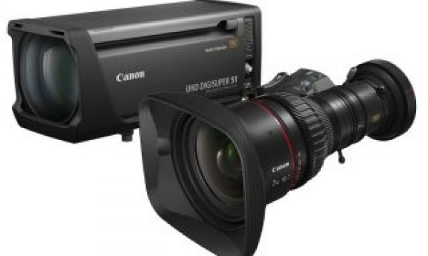 Canon's first 8K broadcast zoom lenses for 1.25-inch sensor cameras