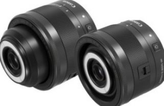 A macro lens with light, for video and photography
