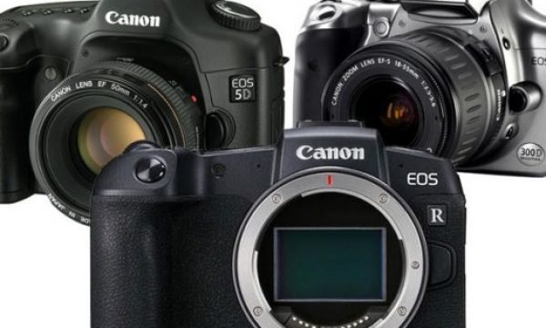 Canon EOS RP: is the new small and light camera a mirrorless EOS 300D?
