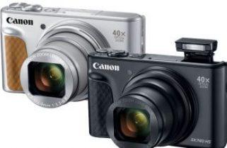 PowerShot SX740 HS gets 4K UHD video before Canon's mainstream DSLRs