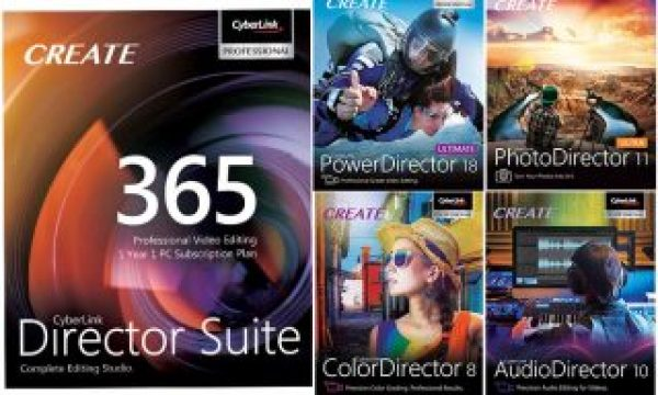 CyberLink: PowerDirector 18 and PhotoDirector 11 released