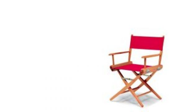 Christmas shopping: a Director's chair