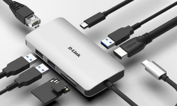 D-Link USB-C adapters: connection, power and extra displays up to 4K