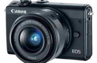 Canon EOS M100: step up from a smartphone