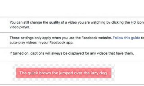 One more #28daysofQuickTips 2018 – Tips for creating captions for Facebook