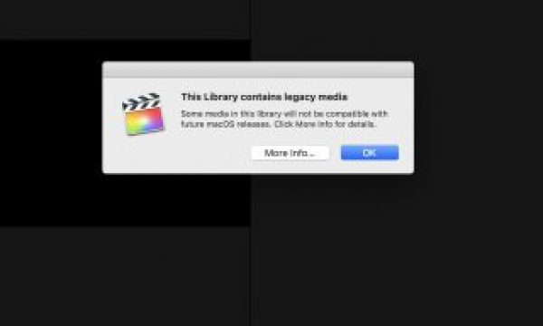 "Apple clarifies the ""legacy media warning"" with an update to their Knowledge Base article"