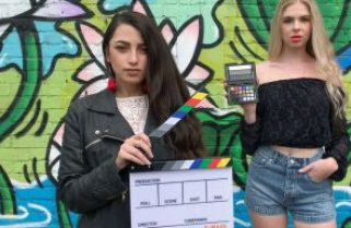 With FiLMiC LOG V2 for FiLMiC Pro iPhone X rivals Blackmagic cameras