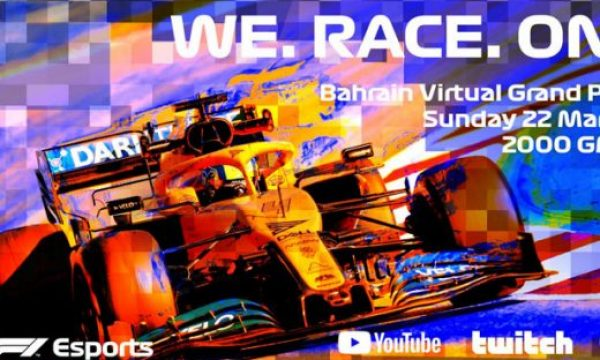 Formula 1 is the next motor racing sport broadcasting from inside a game