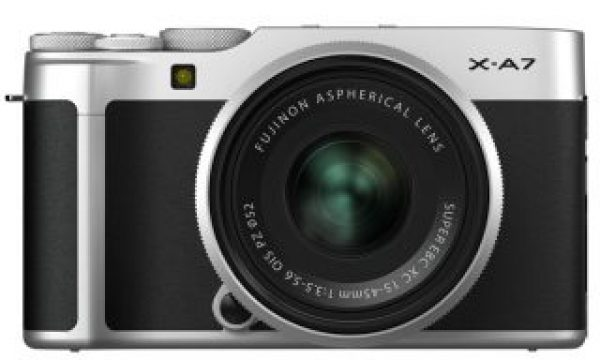 Fujifilm X-A7 mirrorless creates 4K video using data equal to 6K