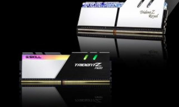 G.SKILL: new DDR4 32GB modules allow for memory kits up to 256GB
