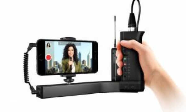 First look: iKlip A/V preamp/mount/grip for smartphones & small cameras