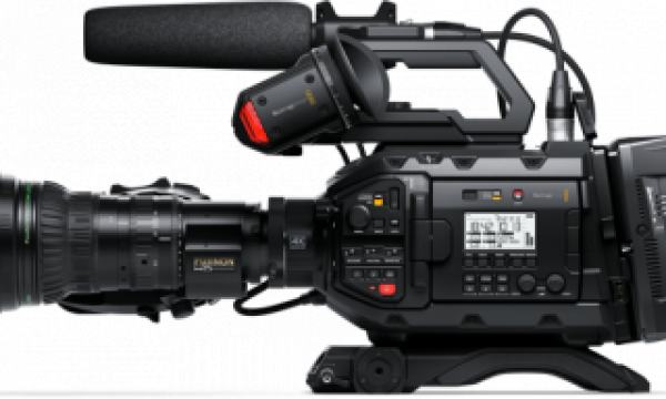 New software update adds Blackmagic RAW to URSA Broadcast camera