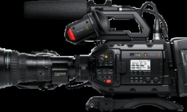 New software update adds Blackmagic RAW to URSA Broadcast camera