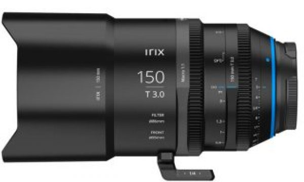 Irix Cine 150mm T 3.0 Macro 1:1 lens: the first in a new line of full frame lenses