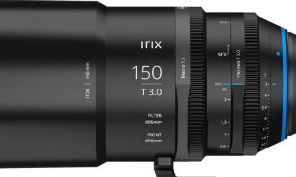 Irix Cine 150mm T 3.0 Macro 1:1 lens: the first in a new line of full frame lenses