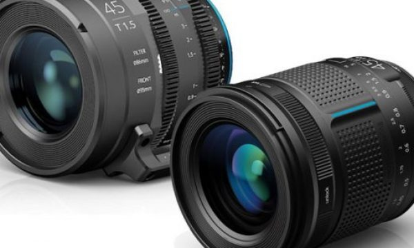 Irix 45mm lens: now you've a version for photography and one for video