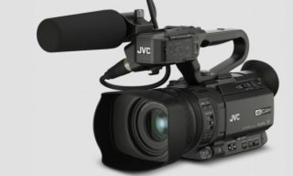 JVC GY-HM250: the first professional camcorder with Facebook Live