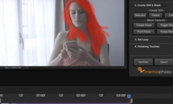 KinemaPhoto: a Photoshop extension to develop cinemagraphs quickly