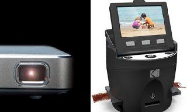 KODAK announces a scanner and three projectors
