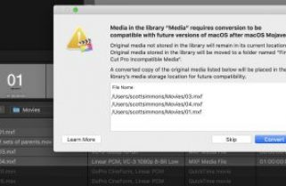Final Cut Pro X updated to 10.4.6 to deal with Legacy Media