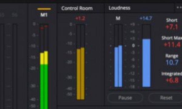 DaVinci Resolve 16 adds LUFS audio loudness standards + linear features.