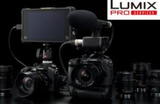 Panasonic: the promised Lumix Pro Services program is now open