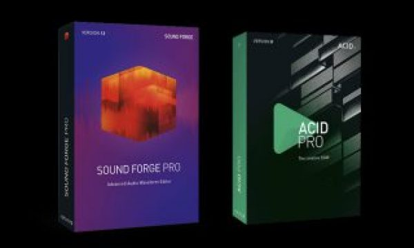 ACID Pro and SOUND FORGE Pro updated