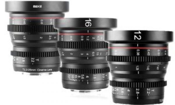 Meike MK-12mm T2.2 Cine Lens now available, five more lenses coming