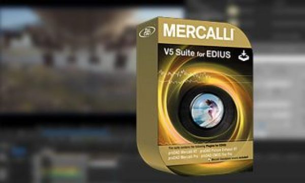 Mercalli V5 Suite for EDIUS: now with real-time video stabilization