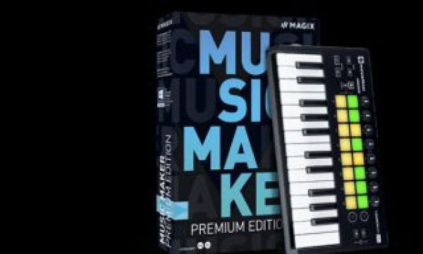 Music Maker 2020: make songs easily with the new software from MAGIX